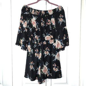 Luxology Floral Romper Small NWT
